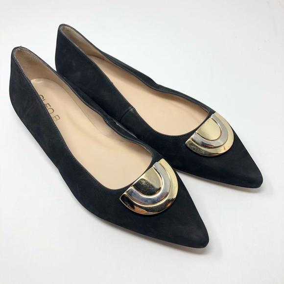 40e9e6f6f2c Anthropologie Shoes - Anthropologie Cleo B Black Sevea Ballet Flats 40 9